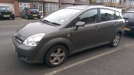 Toyota Corolla Verso 2004 (04) 1.8 VVT-i T3 5-Door, no previous owners, excellent condition