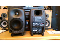 Genelec 8020C Professional Active Studio Monitors (pair),CLEAR SOUND,NEW CONDITION
