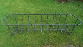 Wrought iron garden planters £12