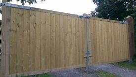 Brand New Pressure Treated Weatherboard Ideal for Driveway gates and sheds