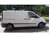 Mercedes Vito 2007 111 CDI Compact 2.2 Diesel Van NO VAT Extensive Service History