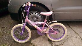 Girls bike ( 3-6 ) years