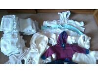 Large Bundle of Good Quality Baby Clothes - 0 - 3 Months