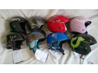 Children ski helmets