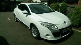 RENAULT MEGANE 1.5 DCI DIESEL COUPE, 1 FORMER KEEPER, FULL SERVICE HISTORY, LONG MOT & CHEAP TAX