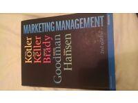 Marketing Management second edition by Kotler, Keller, Goodman and Hansen // published 2012