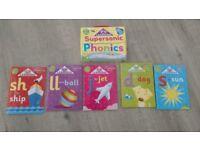 Supersonic Phonics books - £2