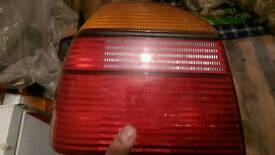 Mk3 golf passenger side back light good condition