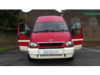 2003 FORD TRANSIT CAMPERVAN, 7 MONTHS MOT, POWER STEERING, SERVICE HISTORY, GREAT VAN