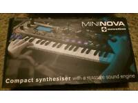 Minova novation Compact synthesiser Brand new