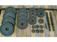 Weights and bars set