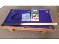 Home Pool Table Billiard Home Freeplay Mobile + Ball set.