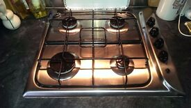 Gas Hob Stainless Steel