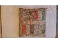 John Lewis - Gracie Floral Patchwork Cushion - RRP£40