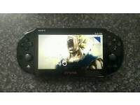 PS Vita with 6 games bargain excellent condition console
