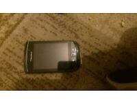 blackberry torch 9800 unlocked black good condition