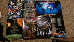 The Final Frontier World Tour 2011 Iron Maiden poster handout London Ontario image 2