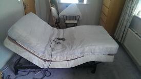 Single ergo bed with mattress