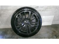 ALLOYS X 4 OF 20 INCH GENUINE RANGEROVER/DISCOVERY FULLY POWDERCOATED IN A STUNNING ANTHRACITE NICE