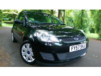 Ford Fiesta 1.2 2007 low Tax Low Mileage Ideal 4 New Driver 1 former keeper low insurance