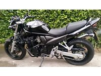 Suzuki GSF650 Bandit K6 Outstanding condition. Pearl Black, All standard.