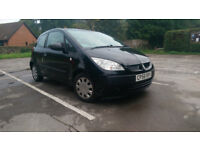 2007/56 Mitsubishi Colt 1.1 black 12 month MOT EXCELLENT RUNNER