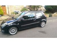 BARGAIN PRICE REDUCED FURTHER FOR QUICK SALE FORD FIESTA ZETEC S 50+MPG LOVELY CAR ONLY 76000 MILES!