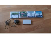 Nintendo ds lite + 4 games