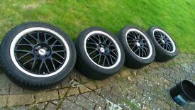 17inch alloy wheels