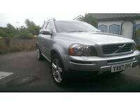 VOLVO XC90 SE SPORT, LOW MILEAGE, GOOD CONDITION, FULL SERVICE HISTORY, I YEAR MOT,1 OWNER
