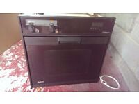 Single electric integrated oven Fully working