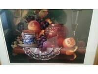 Pair fruit seen prints