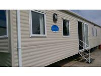 2014 37'x12' 6-Berth ABI Elegance Static Caravan full DG & CH, sited at Cayton Bay, Scarborough