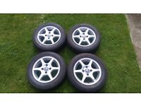 "Citroen Alloys 14"" 4x108 fits Peugeot all in very good condition"