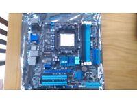 Asus M4A78LT-M AMD760G (Socket AM3) HDMI VGA mATX PCI-E Raid DDR motherboard