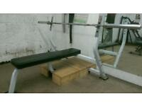 Heavy Duty Olimpic Weights bench.