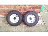 6 x 4 CONWAY CAR TRAILER WITH TAIL & INDICATOR LIGHTS
