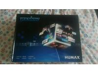Humax freeview box with 500 GB hard drive
