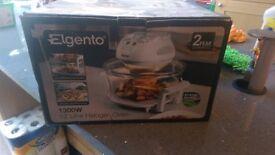 Elgento E14020 Halogen Oven, 1300 W, 12 L - White