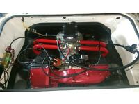 vw t2 2.0 aircooled type 4 engine