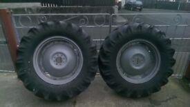Massey wheels for sale 60%tyres £300