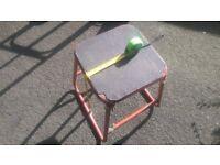 mx motorcross motorbike motorcycle stand stool lift box paddock strong