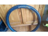 Continental Mountain bike tyres 26inch, pair