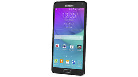 Samsung Galaxy Note 4 Mobile Phone - Black - Unlocked