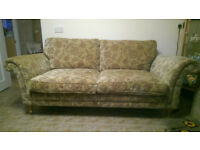 Parker Knoll 2 seater setee and matching chairs