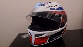 AGV Grid Replica Marco Lucchinelli Helmet, Size: M