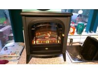 Dimple club 2kw log effect electric fire.