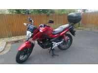 Honda CB125F 2016 - excellent condition, low mileage, FSH