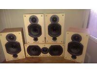 Retro warfdale diamond 9 speakers 440w