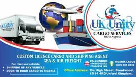 Free shipping/Cargo to Nigeria